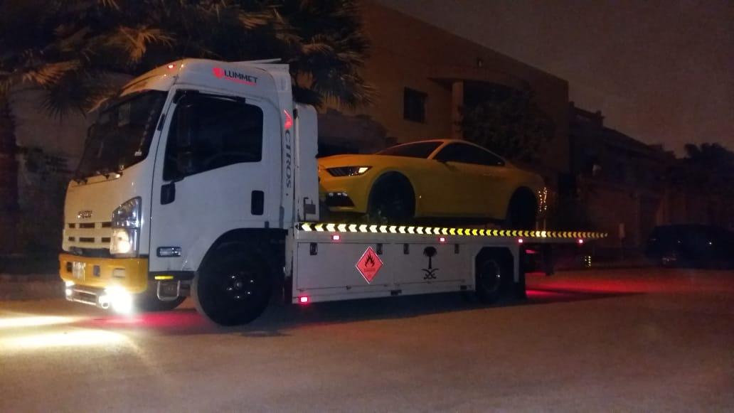 خدمة انقاذ السيارات المعطلة وتقديرات فى مدينة الرياض